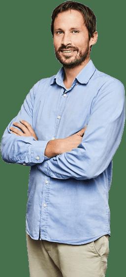 Jan Rabe, Geschäftsführer von Wechselpilot